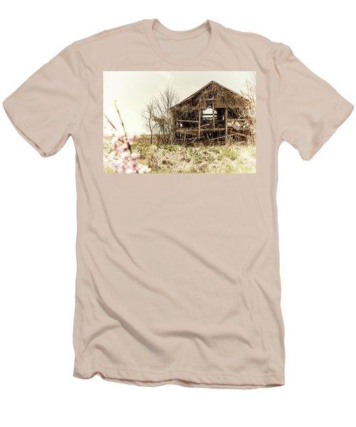 Rickety Shack Men's T-Shirt (Slim Fit) by Pamela Williams