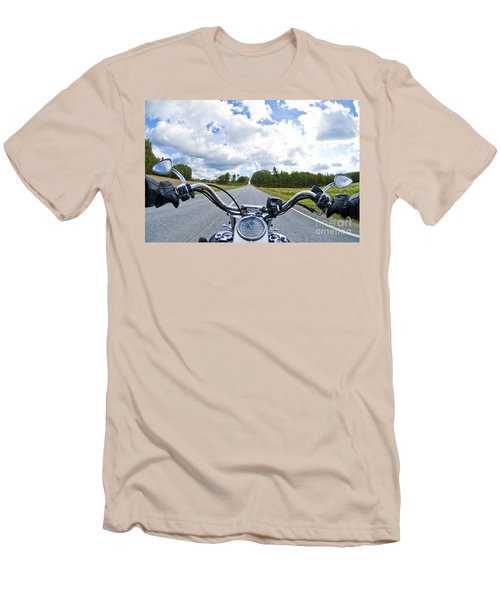 Riders Eye View Men's T-Shirt (Slim Fit) by Micah May