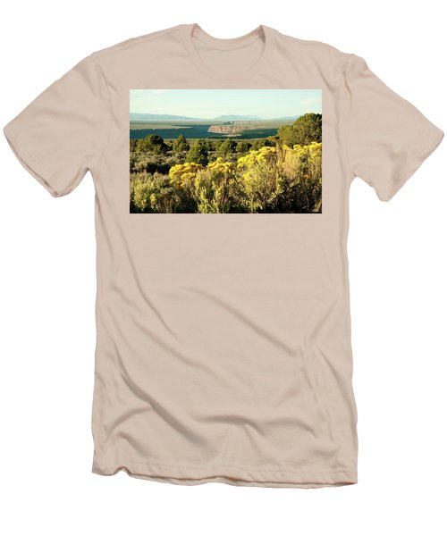 Men's T-Shirt (Slim Fit) featuring the photograph Rio Grande Gorge by Jim Arnold