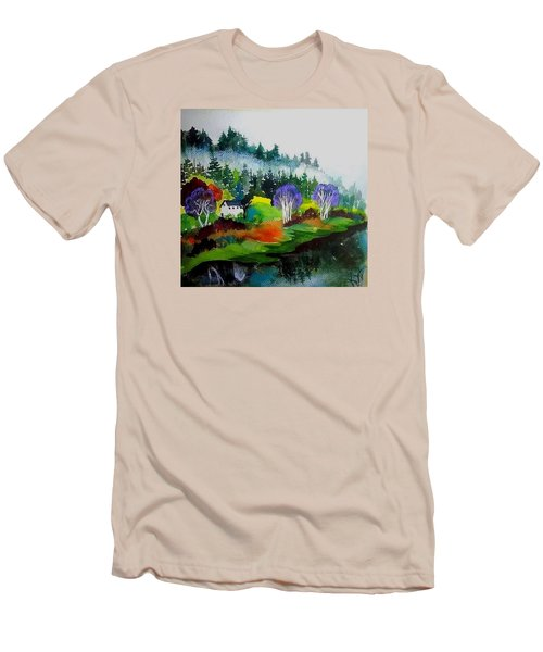 Monte Rio Russian River Men's T-Shirt (Athletic Fit)