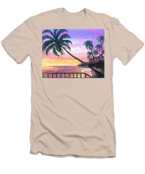 River Road Sunrise Men's T-Shirt (Athletic Fit)