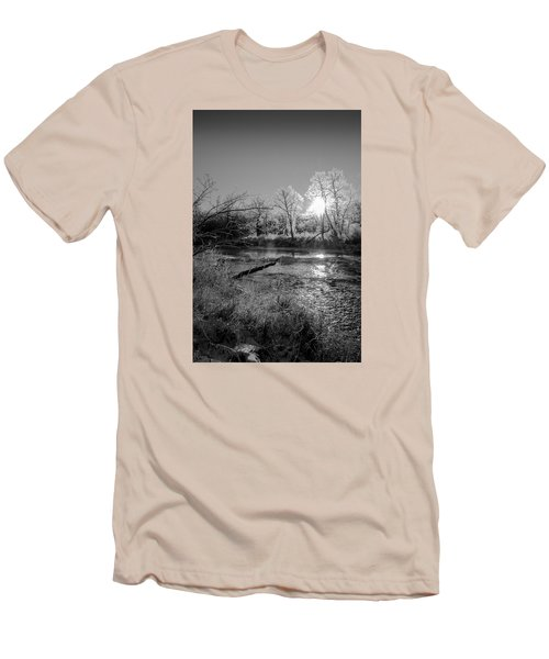 Rivers Edge Men's T-Shirt (Slim Fit) by Annette Berglund