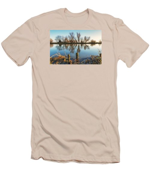Riverside Trees Men's T-Shirt (Athletic Fit)