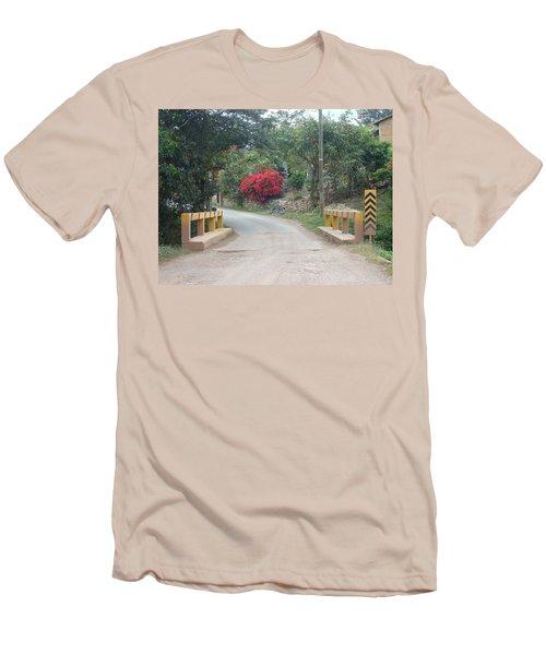 Road 1 Men's T-Shirt (Athletic Fit)