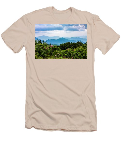 Roan Mountain Rhodos Men's T-Shirt (Athletic Fit)