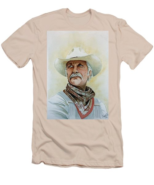 Robert Duvall As Augustus Mccrae In Lonesome Dove Men's T-Shirt (Athletic Fit)