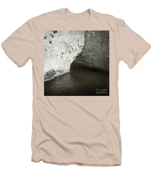 Rock And Water Men's T-Shirt (Slim Fit) by Sebastian Mathews Szewczyk
