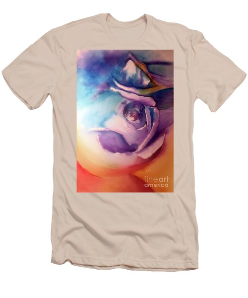 Rock-n-hard Place Men's T-Shirt (Athletic Fit)