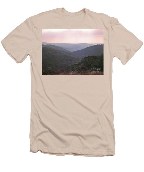Rolling Hill Country Men's T-Shirt (Slim Fit) by Felipe Adan Lerma