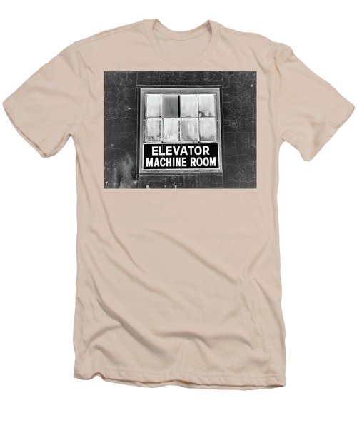 Men's T-Shirt (Slim Fit) featuring the photograph Room by Robert Geary