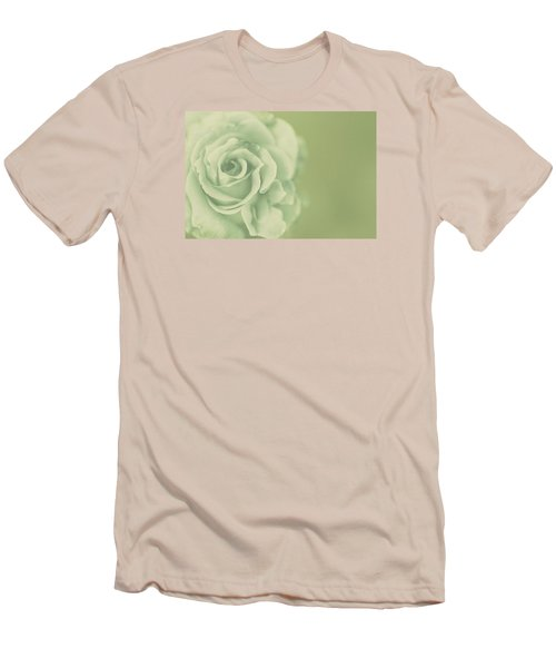 Men's T-Shirt (Slim Fit) featuring the photograph Rose Antique by The Art Of Marilyn Ridoutt-Greene