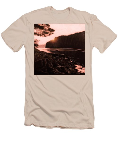 Rosy Glow Of Morning Men's T-Shirt (Athletic Fit)