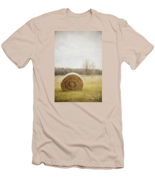 Round Bale O'hay Men's T-Shirt (Athletic Fit)
