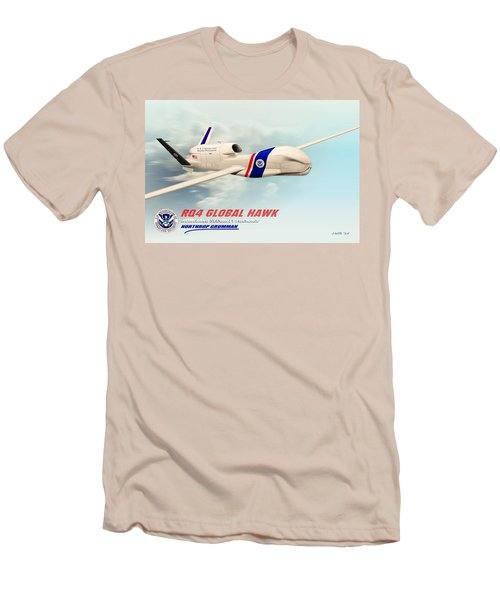 Rq4 Global Hawk Drone United States Men's T-Shirt (Athletic Fit)