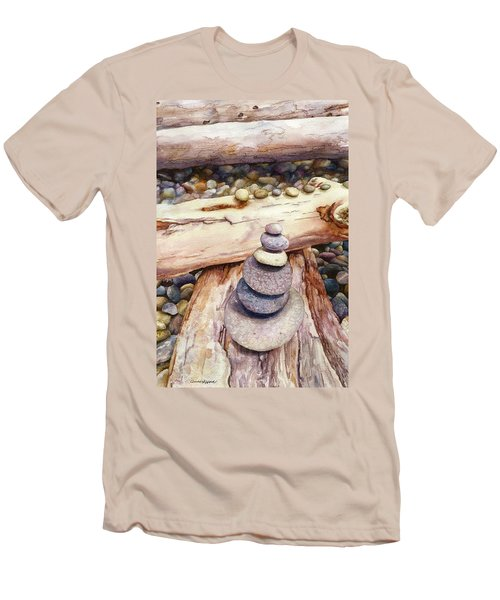 Ruby Beach Men's T-Shirt (Athletic Fit)
