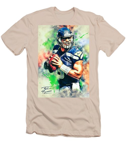 Russell Wilson Men's T-Shirt (Athletic Fit)