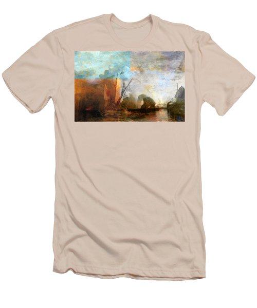 Rustic I Turner Men's T-Shirt (Slim Fit) by David Bridburg