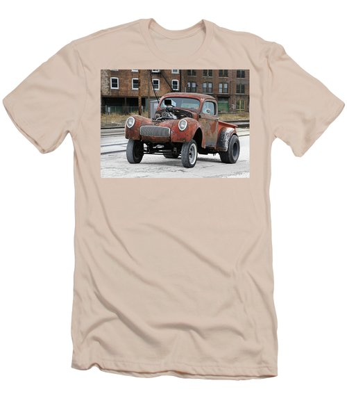 Rusty Gasser Men's T-Shirt (Slim Fit) by Christopher McKenzie