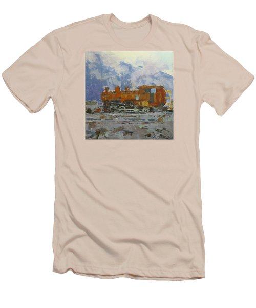 Rusty Loco Men's T-Shirt (Slim Fit) by David Gilmore