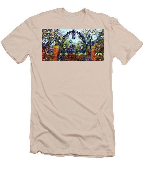 Rutgers University Men's T-Shirt (Athletic Fit)