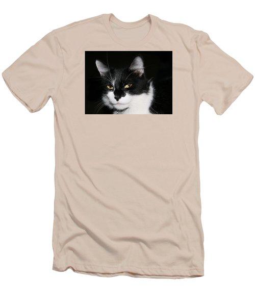 Men's T-Shirt (Slim Fit) featuring the photograph Sabrina by Karen Harrison