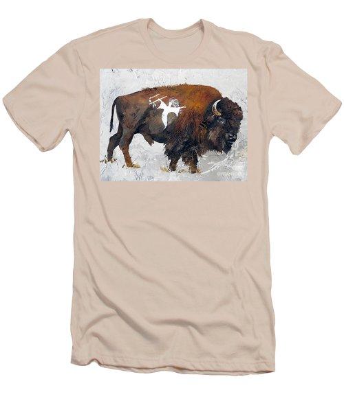 Sacred Gift Men's T-Shirt (Slim Fit) by J W Baker
