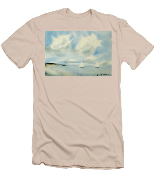 Sailing Into A Calm Anchorage Men's T-Shirt (Athletic Fit)