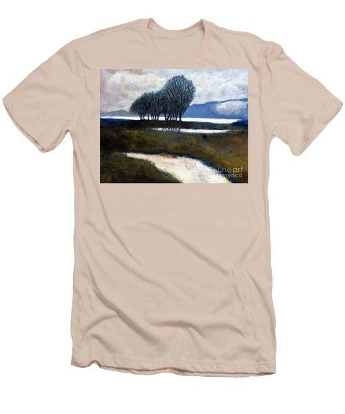 Salton Sea Trees Men's T-Shirt (Athletic Fit)