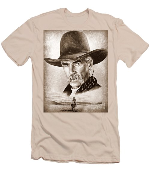 Sam Elliot The Lone Rider Men's T-Shirt (Athletic Fit)