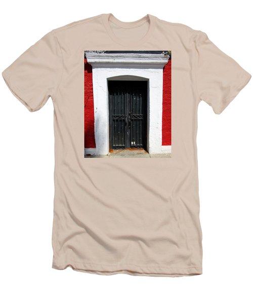 San Jose Del Cabo Door 8 Men's T-Shirt (Slim Fit) by Randall Weidner