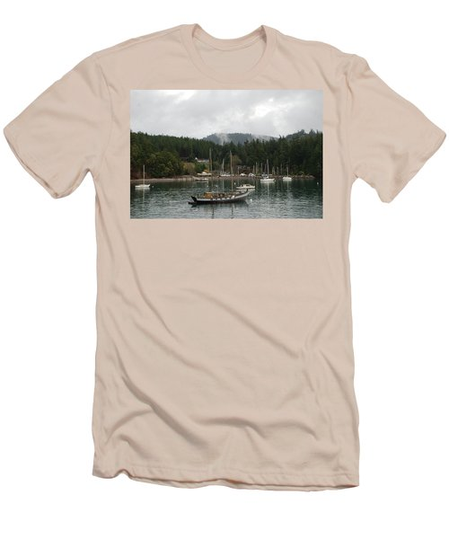 San Juan - Orcas Island  Men's T-Shirt (Athletic Fit)
