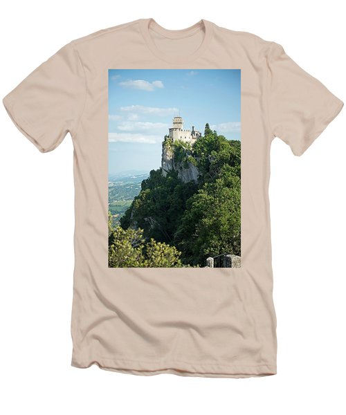 San Marino - Guaita Castle Fortress Men's T-Shirt (Athletic Fit)