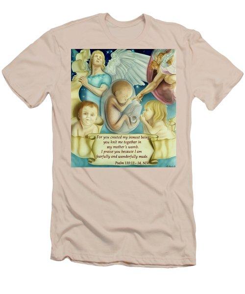Sanctity Of Life Men's T-Shirt (Athletic Fit)