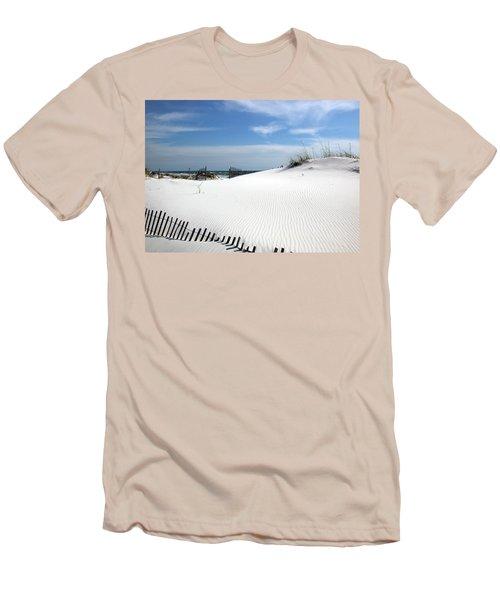 Sand Dunes Dream Men's T-Shirt (Slim Fit) by Marie Hicks