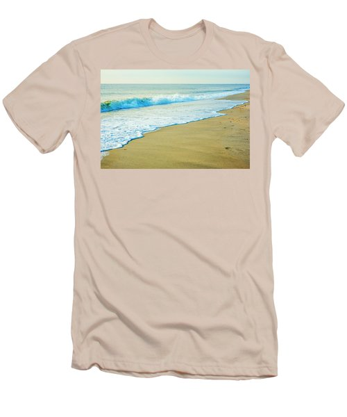 Sandy Hook Beach, New Jersey, Usa Men's T-Shirt (Athletic Fit)