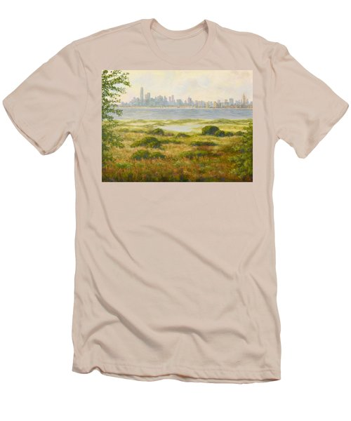 Sandy Hook View Men's T-Shirt (Athletic Fit)