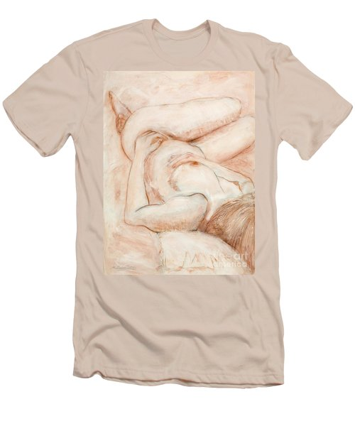 Sanguine Nude Men's T-Shirt (Athletic Fit)