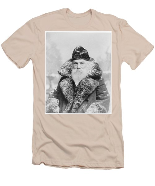 Santa Claus Men's T-Shirt (Slim Fit) by David Bridburg