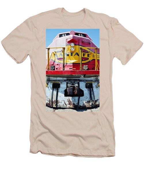 Sante Fe Railway Men's T-Shirt (Athletic Fit)