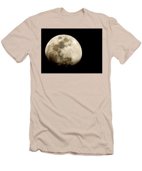 Satellite Serenade  Men's T-Shirt (Slim Fit) by Paulo Guimaraes