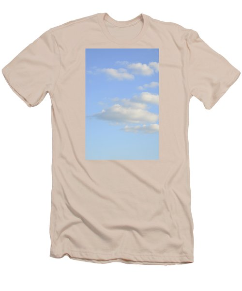 Men's T-Shirt (Slim Fit) featuring the photograph Say Vertical by Wanda Krack