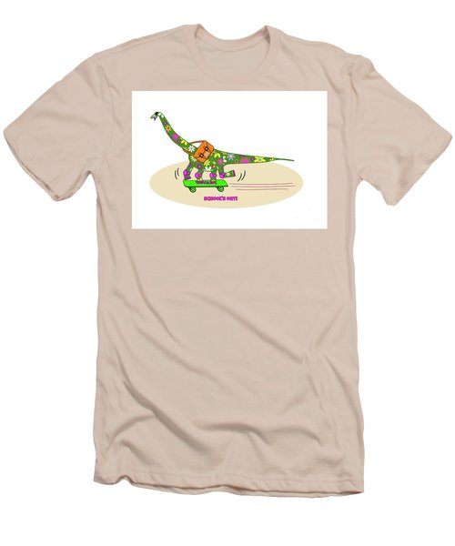 Schools Out For Dinosaurs Men's T-Shirt (Athletic Fit)
