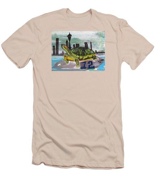 Sea Hawks Go Men's T-Shirt (Athletic Fit)