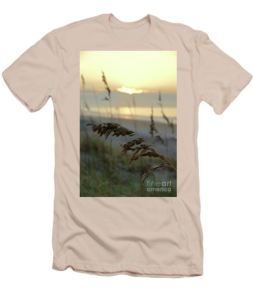 Sea Oats At Sunrise Men's T-Shirt (Athletic Fit)