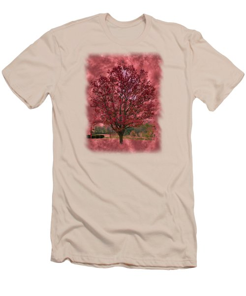 Seeing Red 2 Men's T-Shirt (Slim Fit) by John M Bailey