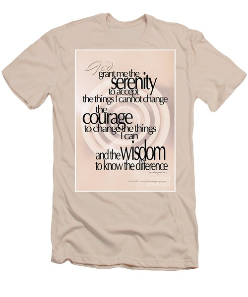 Serenity Prayer 06 Men's T-Shirt (Athletic Fit)