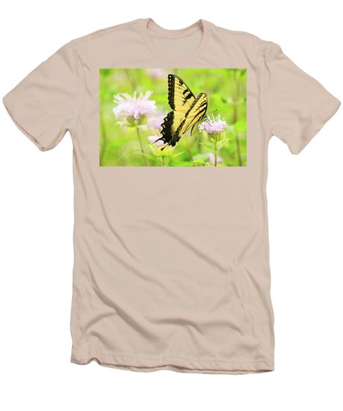 Series Of Yellow Swallowtail #4 Of 6 Men's T-Shirt (Athletic Fit)