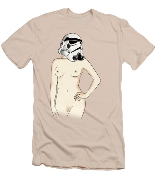 Sexy Stormtrooper Men's T-Shirt (Slim Fit) by Nicklas Gustafsson