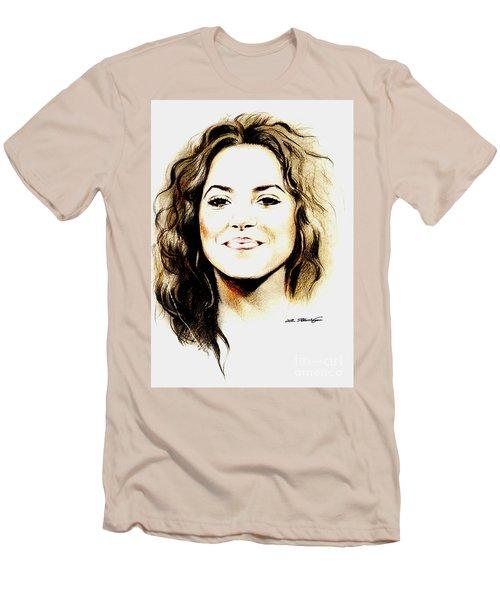 Shakira Men's T-Shirt (Slim Fit) by Lin Petershagen