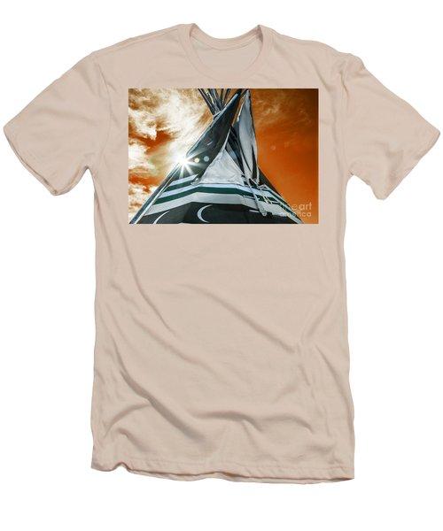 Shamans Tipi Men's T-Shirt (Athletic Fit)